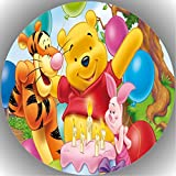 Fondant Tortenaufleger Tortenbild Geburtstag Winnie Pooh N11