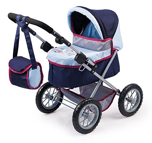 Bayer Design 1300400 - Puppenwagen Trendy, blau