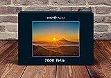 VERO PUZZLE 47588 Natura Monte Fuji, 1000 parti in alta qualità, cellophaned scatola di puzzlen