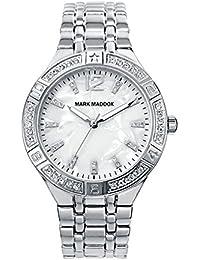 Mark Maddox MM6007-85 - Reloj, impermeable, 30m, color plateado