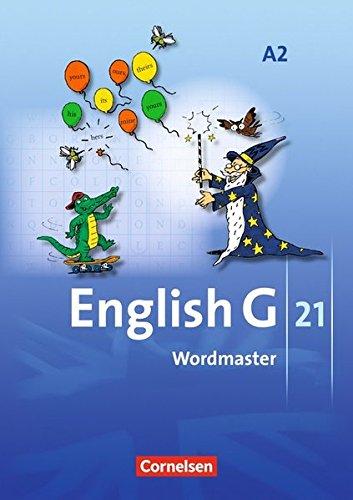 English G 21 - Ausgabe A: Band 2: 6. Schuljahr - Wordmaster: Vokabellernbuch