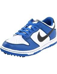 Nike - Zapatos de golf para niño Weiß-Blau-Schwarz