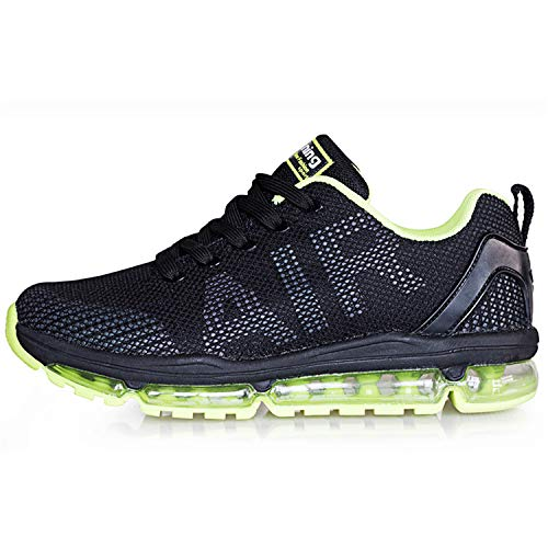 Axcone Homme Femme Air Running Baskets Chaussures Outdoor Running Gym Fitness Sport Sneakers Style Multicolore Respirante - GN 42EU