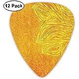 12-er Pack Altmodische Blog-Rockgitarren-Plektren Komplettes Geschenkset für Gitarristen