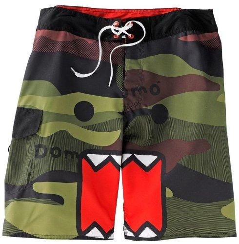 Domo-Kun Domo cara camuflaje Shorts Junta | 34