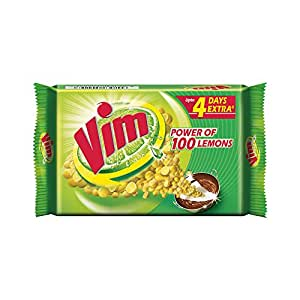 Vim Dishwash Bar, 200g - Pack of 3