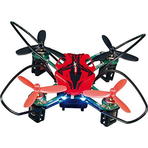 Carrera RC - Micro cuadricóptero, 4 canales, 2.8 cm diámetro de 7 x 7 cm, 2.4 GHz (370502002)
