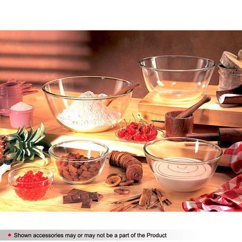 Borosil microwavable 0.9L mixing bowl  available at amazon for Rs.315