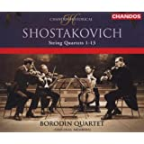 Chostakovitch : les Quatuors à cordes (1-13)