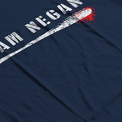 I Am Negan Walking Dead Lucille Women's Vest Navy blue