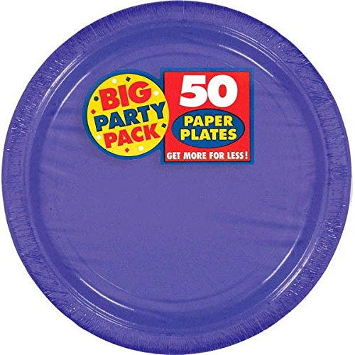 amscan New Purple Big Party Pack 9