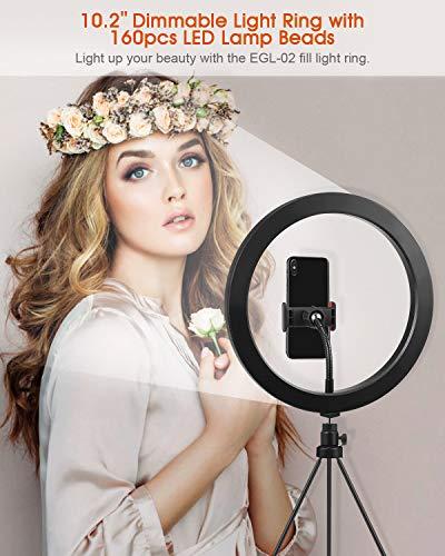 Zoom IMG-1 elegiant luce per selfie 10