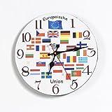 Unbekannt Sunny Toys 13698 Holz Wanduhr, Europäische Union, circa 24 cm mit Sekundenzeiger