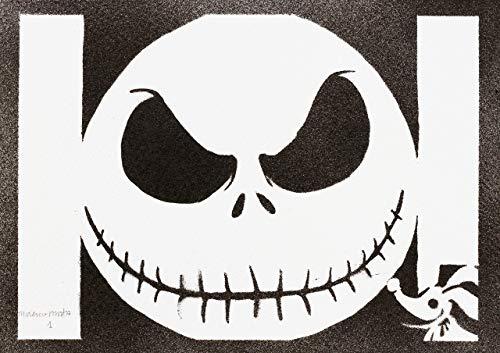 Póster Jack Skeleton Skellington Pesadilla