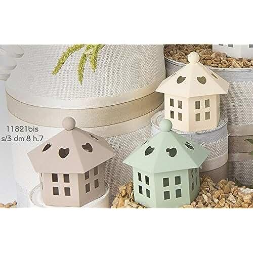 ideas regalos para comuniones kawaii STOCK 12 PEZZI Lanterna in latta mini colorata da 7 cm SEGNAPOSTO BOMBONIERA MATRIMONIO COMUNIONE CRESIMA COMPLEANNO