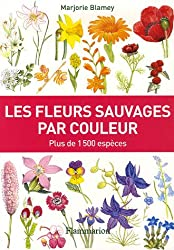 Les fleurs sauvages par couleur