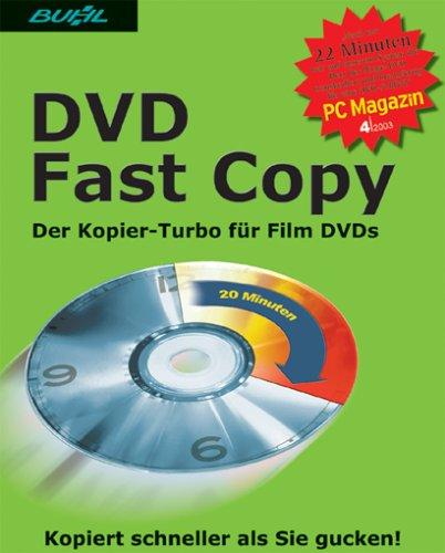 DVD Fast Copy, DVD-ROMDer Kopier-Turbo für Film DVDs. Für Windows 98/Me/2000/XP (Dvd Ripper-brenner)