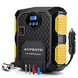 Compressore Aria portatile, AUPERTO 150 PSI/10.3 Bar Gonfiagomme Leggero con Torcia Incorporata, 3...