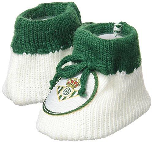 Real Betis Balompié Patbet Patucos, Blanco/Verde, Talla Única
