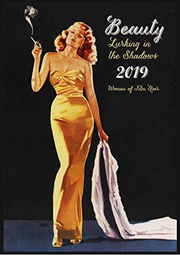 2019 Kalender [12 pages 20x30cm] Noir Ladies Vintage Detective Pinup Movie Posters - Lady Movie Poster