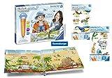 tiptoi Ravensburger 00805 - Create Starter-Set: Stift und Weltreise-Buch + 2X Create Stickerbögen- die ersten sprechenden Sticker