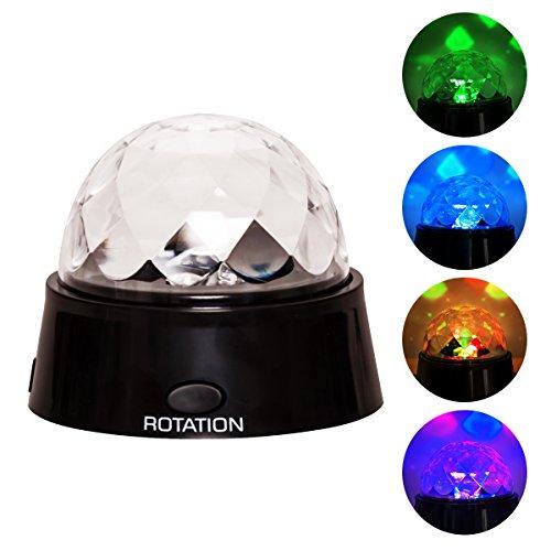 Topgoods2016 Projektor Lampe RGB LED drei Farbigen Farbwechsel Star Nachtlicht Romantische Leuchtende Bühnenlicht Weihnachtslampe für dekor