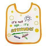 Tollyjoy Attitude Feeding Bib (Multi col...