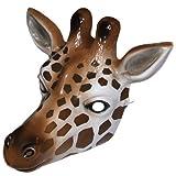 Giraffe Plastik Gesichtsmaske - Für Kinder oder Gewachsen Schnürschuhe