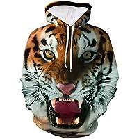 Sudaderas Hombre, Xinantime Hombres 3D Hip Hop-Printed Sportswear