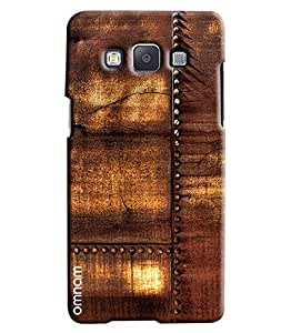 Omnam Old Wood With Nails Fitted Printed Designer Back Cover Case For Samsung Galaxy A3