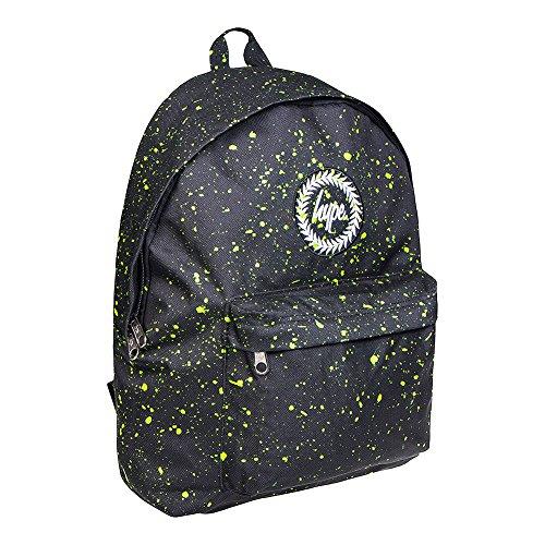 Hype Speckle Rucksack - 18L Schwarz/Neon Grün