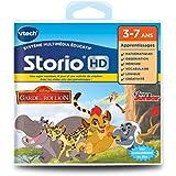 Vtech - 275205 - Jeu Hd Storio - La Garde Du Roi Lion