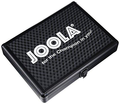 JOOLA Tischtennis-Hülle Alukoffer, Schwarz, 80542