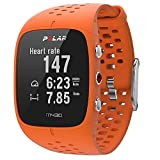 Polar M430 Unisex Adult GPS Running Watch,Orange,One Size