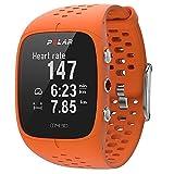 Polar M430 Orologio GPS Multisport con Cardiofrequenzimetro Integrato, Monitoraggio Attività Fisica e Sonno, Arancione, M-L