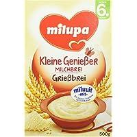"""Milupa Grießbrei mit Milch Miluvit """"mit"""" ab dem 6. Monat, 500 g Packung"""