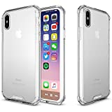 IPhone X Case, Apriletter Shock Absorption Soft TPU Bumper Cover Durable Flexible Anti-Scratch Full Protective For Iphone X – Clear