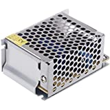 Lixada Voltaje Transformador Interruptor Fuente de Alimentación para Tiras de LED 25W AC 100V~240V a DC 5V 5A