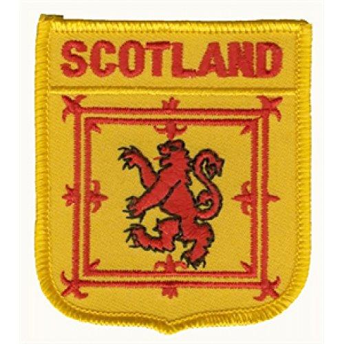 Everflag Patch zum Aufbügeln oder Aufnähen : Schottland royal - Wappen
