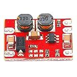Modulo step-up e step-down automatico DC-DC FairytaleMM da 2,5 V-15 V a 3,3 V 5 V Modulo di alimentazione per piccoli volumi a uscita fissa (rosso)