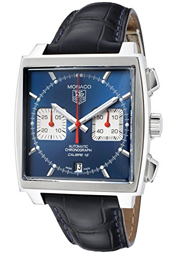 TAG Heuer CAW2111.FC6183 – Watch for Men, Leather Strap