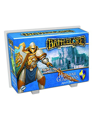 Fantasy Flight Games - Battlelore, 2° edizione, Gioco da tavolo - Army Pack: Hernfar Guardians (set di personaggi) [lingua inglese]
