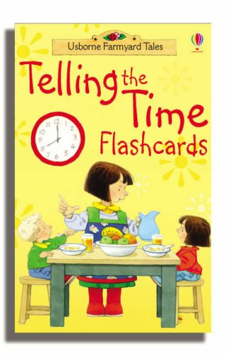 Farmyard Tales Telling The Time Flashcards - Ds Flashcard