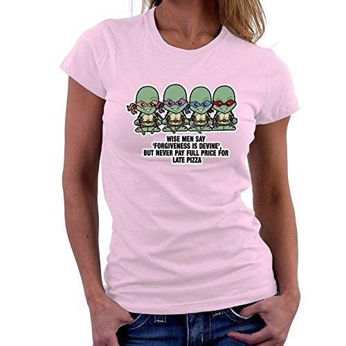 Lil Teenage Mutant Ninja Turtles Forgiveness Is Devine Women's T-Shirt