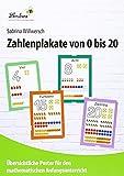 Zahlenplakate von 0 bis 20, 21 Poster