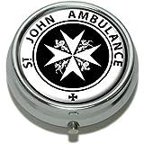 St John Ambulance Pill Case Trinket Gift Box