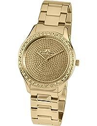 Jacques Lemans Reloj Multiesfera para Mujer de Cuarzo con Correa en Acero  Inoxidable Macizo 1- d9485a0031b6