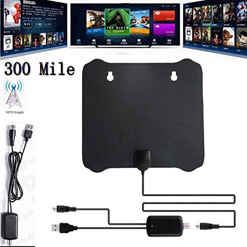 RONSHIN Zubeh?r 300 Meilen Reichweite Antenne TV Digital HD Skywire 4K HDTV 1080p mit Verst?rker K5Elektronisch etc.