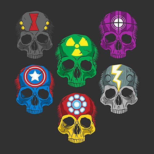 Disassembled Avengers Women's T-Shirt Charcoal