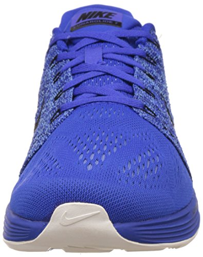 Nike LunarGlide 7 Herren Laufschuhe Azul / Black (Racer Blue/Black-Sl-Dp Ryl Bl)